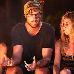 Andrew at his last Tribal Council.