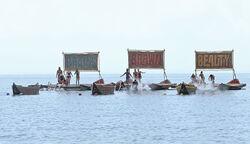 Kaoh rong wooden ships