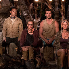 Malolo at their fifth Tribal Council.