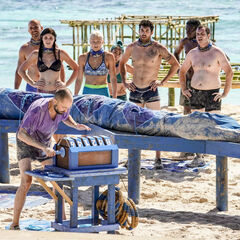 Manu competes in the second Reward/Immunity Challenge, <i><a href=