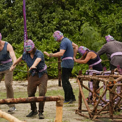 Vokai competes in the fourth Immunity Challenge, <i><a href=