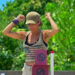 Laura wins the 10th duel.