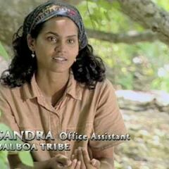 Sandra gives a confessional.