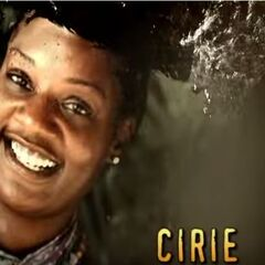Cirie's photo in the opening.