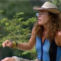 Jerri leading her tribe.