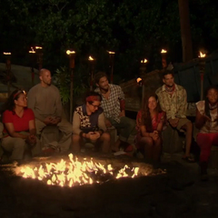 Mana at their second Tribal Council.
