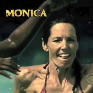 Monica's second motion shot in the intro.