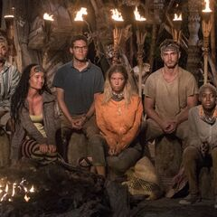 Malolo at their fourth Tribal Council.