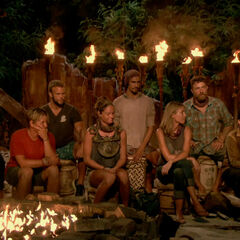 Solewa at their fourth Tribal Council.