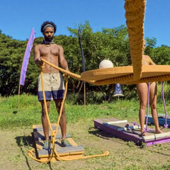 Lavita competes in the third individual Immunity Challenge, <i><a href=