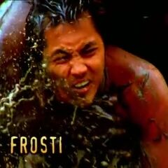 Frosti's first motion shot in the opening.