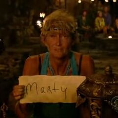 Jane's first vote against Marty.