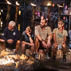 Aubry at Gondol's second Tribal Council.