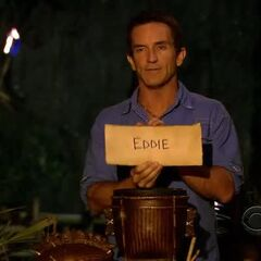 A vote against Eddie.