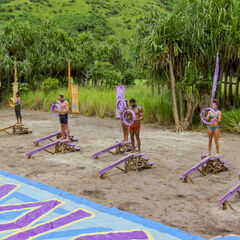 Lumuwaku competes in the third individual Immunity Challenge, <i><a href=