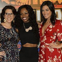 Cydney with Aubry and Michele at the <a href=