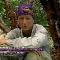 Stephanie doing a <a href=