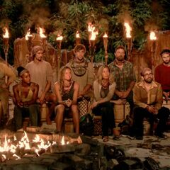 Solewa at their second Tribal Council.