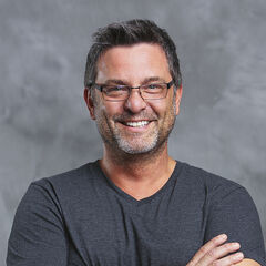 Jeff's publicity photo for the voting of the <i><a href=