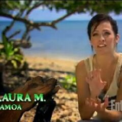 Laura doing a confessional on <a href=