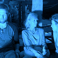Tina at Redemption Island with Vytas and Laura M.