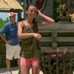 Rachel eliminated.