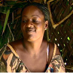 Cirie at camp before her third Tribal Council.