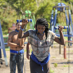 Michaela competes for Nuku in the fourth Immunity Challenge, <i><a href=