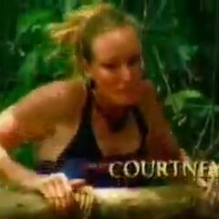 Courtney's motion shot in the opening.