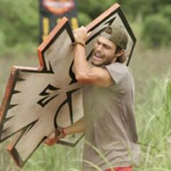 Austin competes for immunity, <a href=