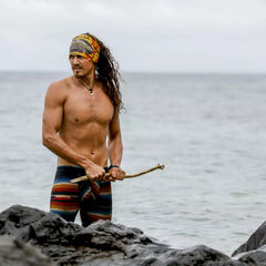 Joe on the Kama beach.