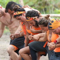 Pudientes competing in the eighth Immunity Challenge, <i><a href=