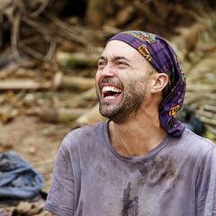 David laughing.