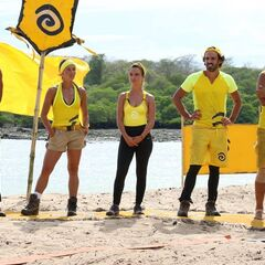 The Final 5 at the Reward Challenge.