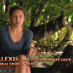 Alexis making a <a href=