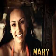 Mary's photo in the opening.