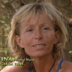 Tina making a <a href=