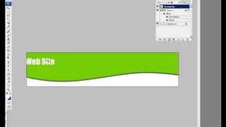 How to Make a Curved Header in Photoshop