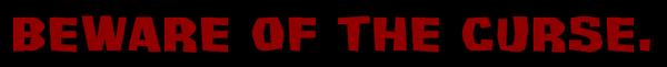 Cursed Idol tagline