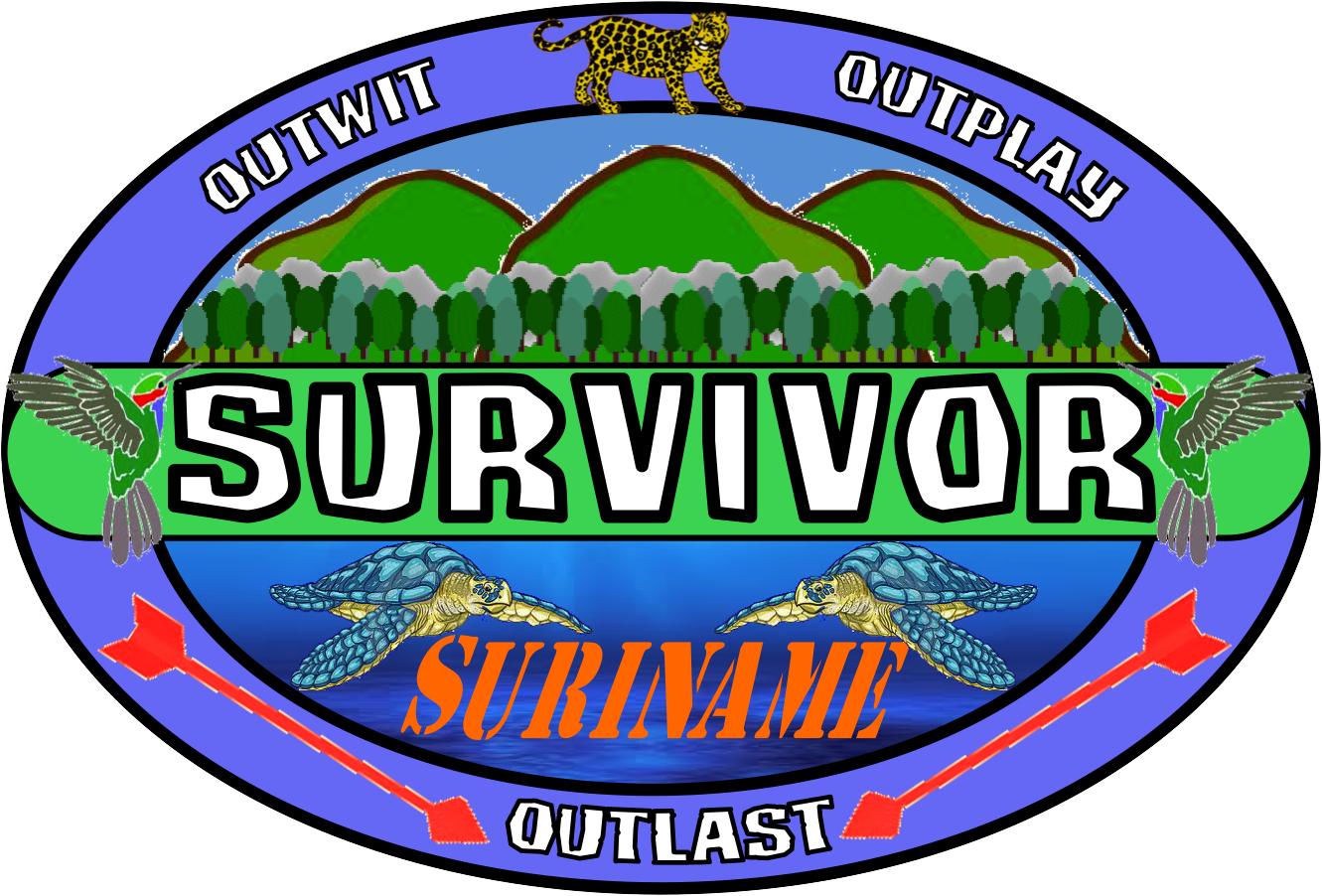 survivor suriname survivor fanon wiki fandom powered by wikia rh survivorfanon wikia com survivor logo maker free