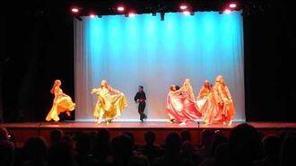 Zirka Ukrainian Dance Ensemble's Gypsy Dance at Dickinson State University