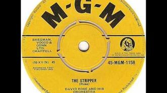 """David Rose & His Orchestra - """"The Stripper"""""""