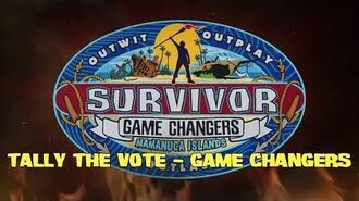 Tally the Vote - Game Changers
