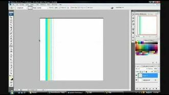How to make a wavy curvy line in photoshop