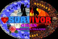 Survivor Oman Heroes vs. Villains Logo
