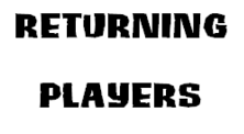 Returning Player
