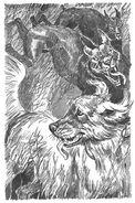 Свирепые псы нападают на собак Пустой город