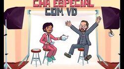 VD 10 anos Chá Especial com Alvinho & Moderação - VD