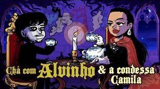 Chá com Alvinho 12 - Camila Teixeira