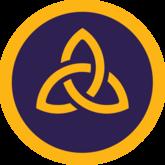 Badge triquetra